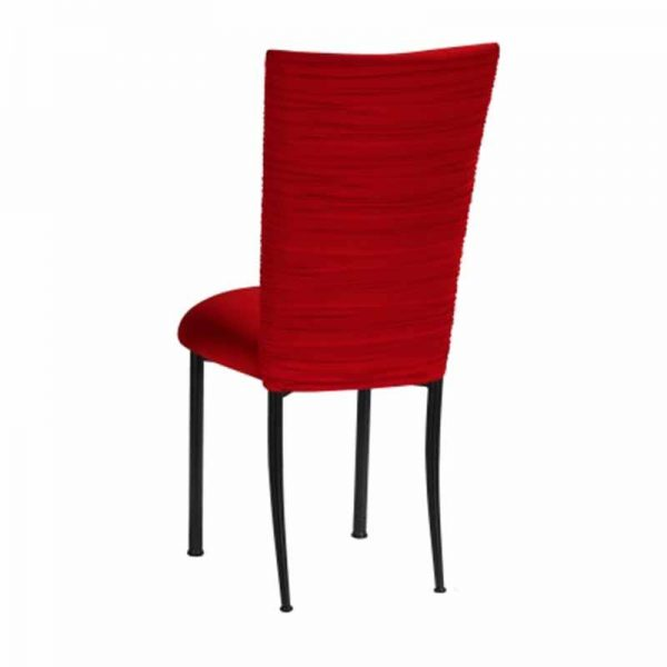 Chair Cover Red - event & wedding decor rental montreal | home staging decor