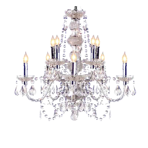 Crystal Chandelier - event & wedding decor rental montreal