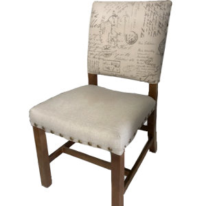 Barn Chair - event & wedding decor rental montreal | home staging decor