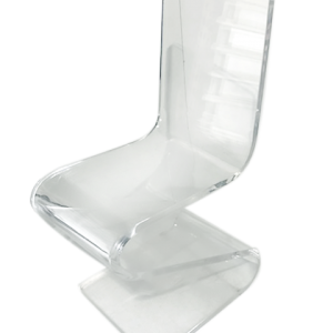 Illucite Chair Wave - event & wedding decor rental montreal   home staging decor