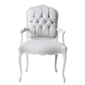Louis XVI Queen Chair - event & wedding decor rental montreal
