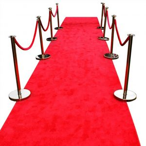 Red Carpet - event & wedding decor rental montreal | home staging decor