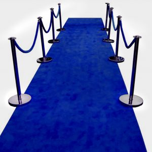 Blue Carpet - event & wedding decor rental montreal | home staging decor