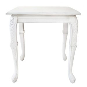 Baroque Side Table - event & wedding decor rental montreal | home staging decor rental