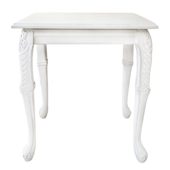 Baroque Side Table - event & wedding decor rental montreal   home staging decor rental
