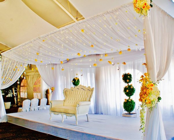 Bedeken Rectangular - event & wedding decor rental montreal