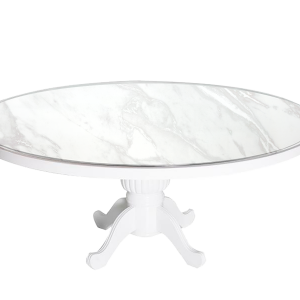 Capecod Round Marble - event & wedding decor rental montreal   home staging decor rental