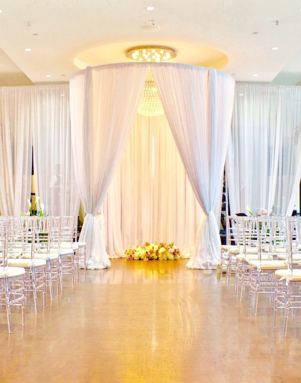 Chuppah Round - event & wedding decor rental montreal