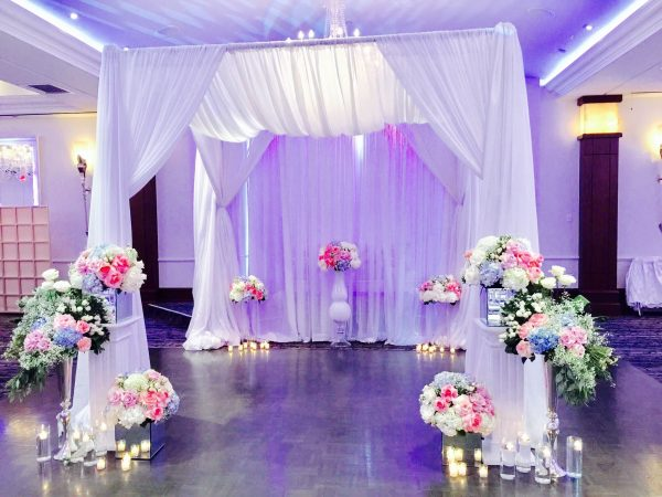 Chuppah Square - event & wedding decor rental montreal | home staging decor rental