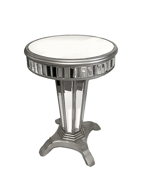Cartier Side table - event & wedding decor rental montreal