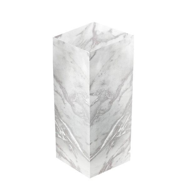 Marble Riser - event & wedding decor rental montreal | home staging decor rental